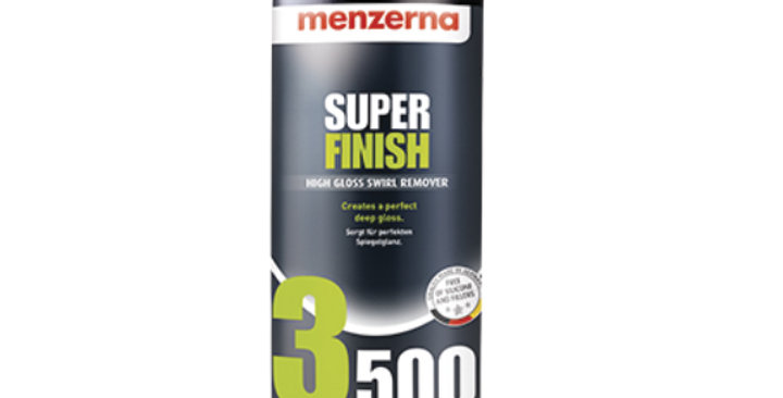 Menzerna Super Finish 3500 | High Gloss Swirl Remover, 8oz