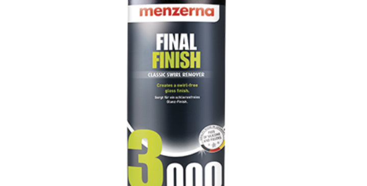 Menzerna Final Finish 3000 | Classic Swirl Remover, 32oz