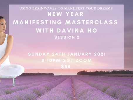 New Year Manifesting Masterclass With Davina Ho