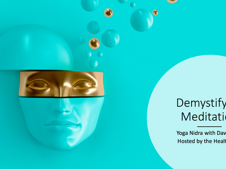 Demystifying Meditation Hosted By The Health Nag