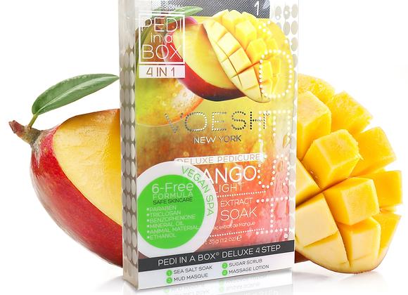 VOESH Pedi in a Box 4 Step Mango Delight
