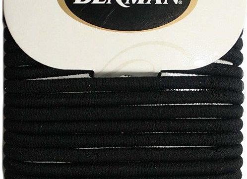 Denman No Damage Elastics, Black Large (18)