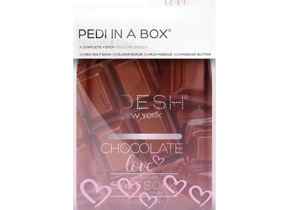 Voesh Pedi In A Box Deluxe 4 Step Chocolate Love