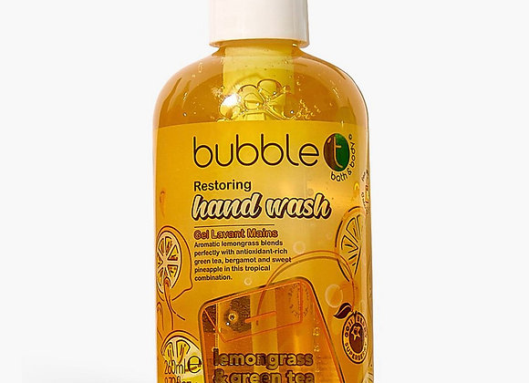Bubble T Hand Wash Lemongrass Green Tea