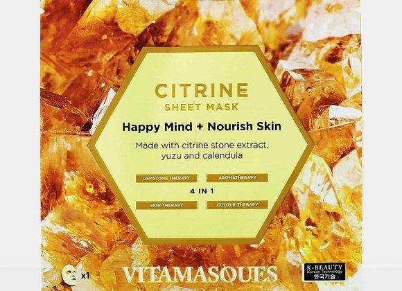 Vitamasque Citrine Sheet Mask