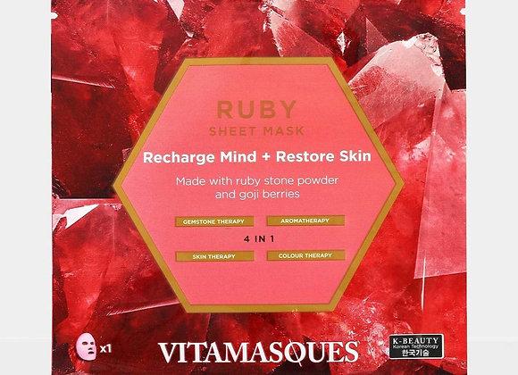 Vitamasque Ruby Sheet Mask