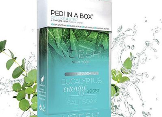 VOESH Pedi in a Box 4 Step Eucalyptus Energy Boost
