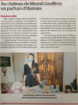Le Courrier Cauchois-Ermenouville. Au ch
