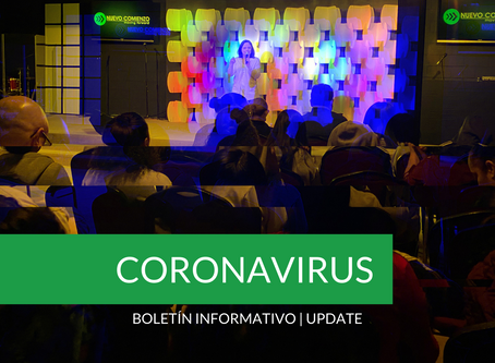 Boletín Informativo: CORONAVIRUS | Update