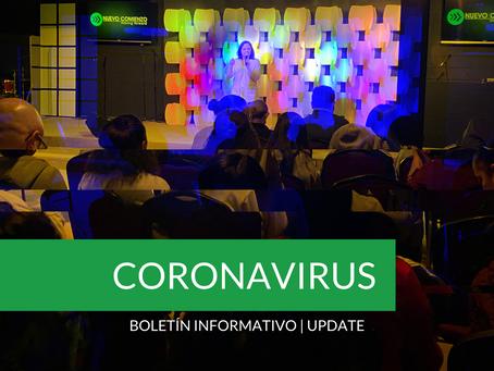 Boletín Informativo: CORONAVIRUS   Update