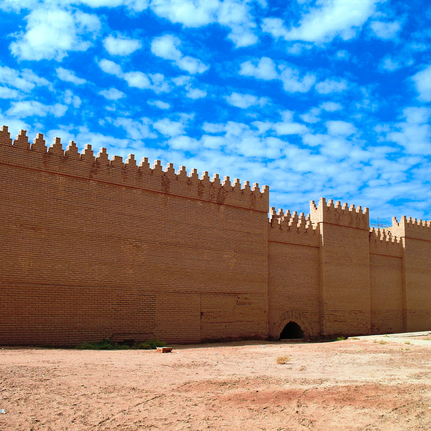 Ruins of Processional street of ancient Babylon, Hillah, Iraq.jpg