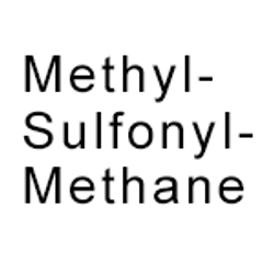 Methyl--Sulfonyl--Methane