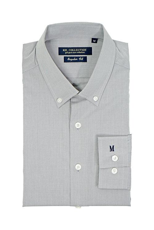 Light Grey Button-down Shirt