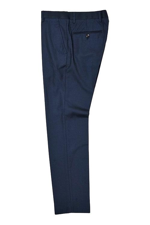 Navy Herringbone Trousers T505