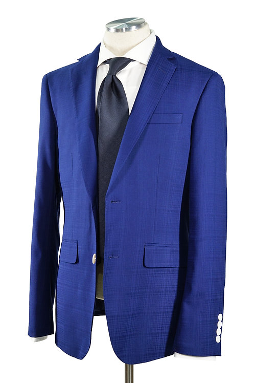 Blue Plaid Check Jacket T601