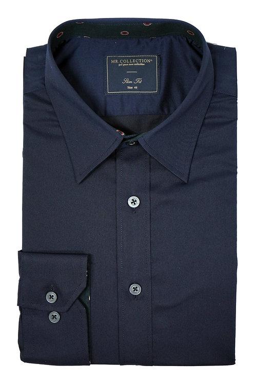 Navy Elastic Shirt RH02