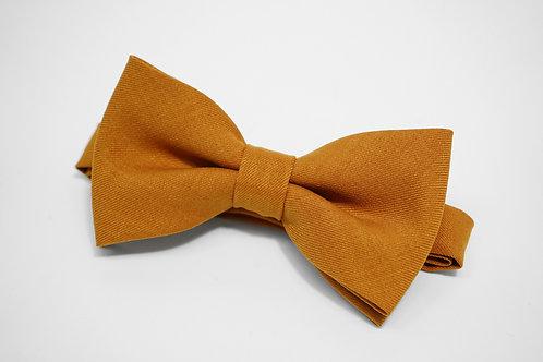 Yellow Twill Bow Tie