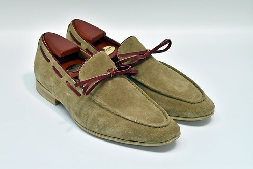 Sand Suede Loafers H94