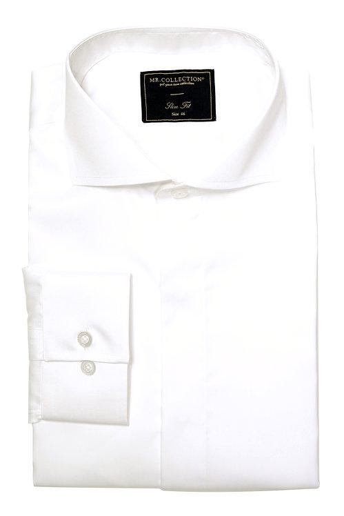 White&Blue Hair-stripe Shirt TH12