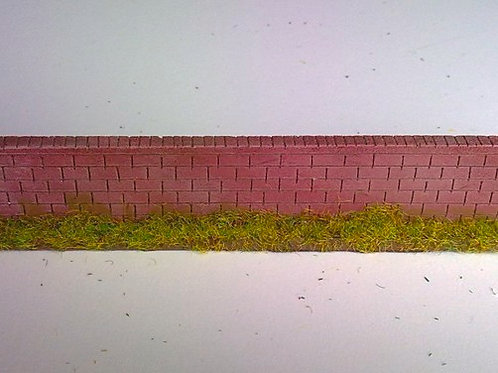 28mm Brick Wall - Straight