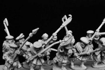 Highlanders with Mixed Weapons