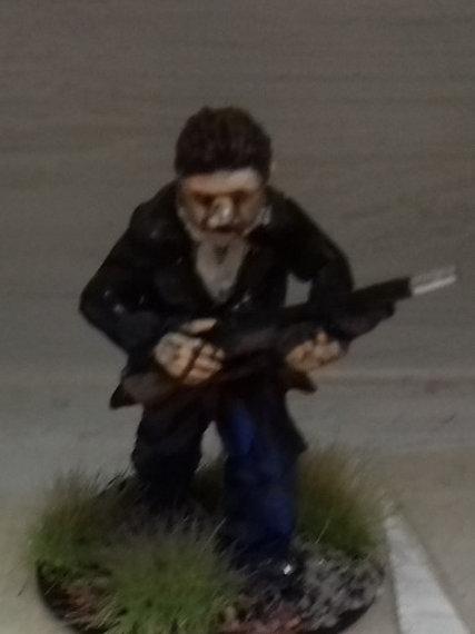 Resistance Fighter with shotgun