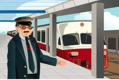 vector-illustration-train-conductor-stat