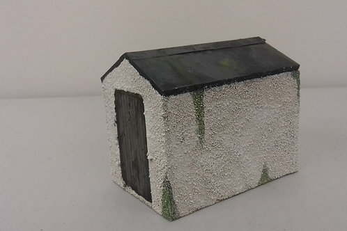 O Gauge Pebble Dash Shed