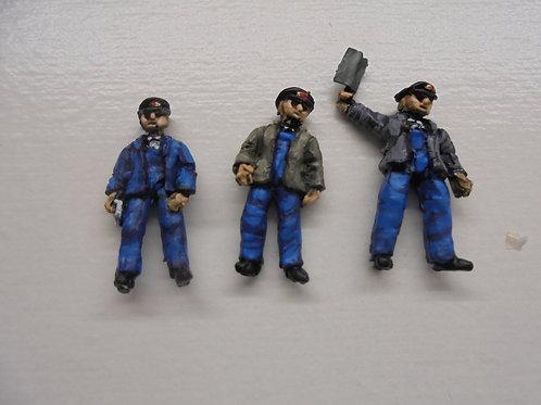 OO Gauge Driver Second Man /Fireman & Guard