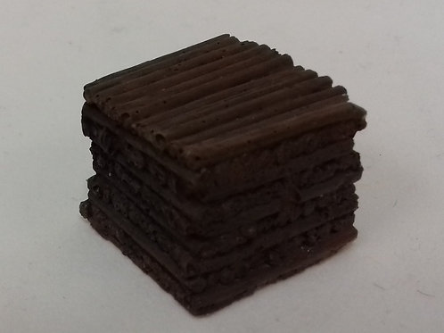 OO Gauge Stacked Timber Pit Props