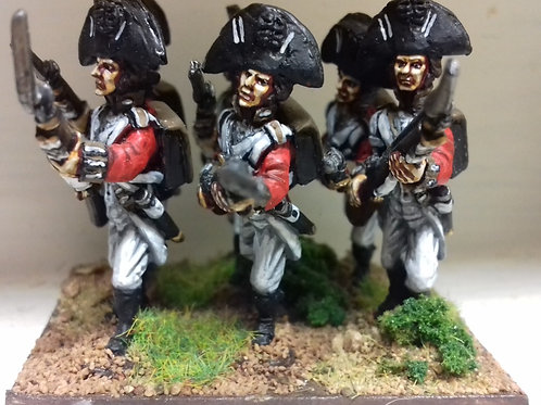 Line Infantry in Bicorne with Rosette