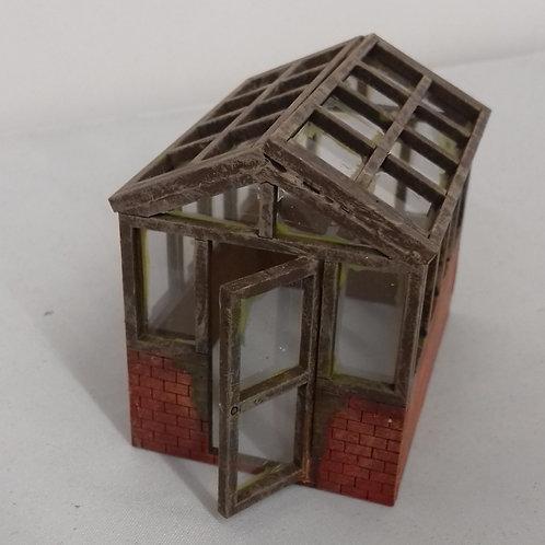 O Gauge 1/2 Brick Greenhouse
