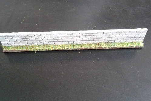 28mm Stone Wall Straight