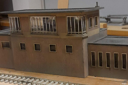 O Gauge Signal Box Kit