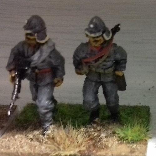 Zbvz26 LMG Gunner & No2, Fur Hat- Flaps Down
