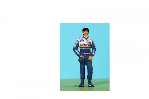 Motor Racing Personalities-in the style of: