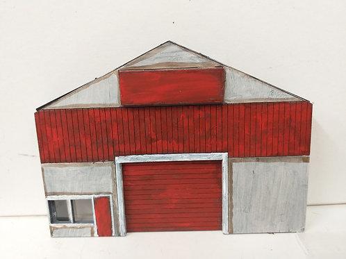 N Gauge Single Door Warehouse
