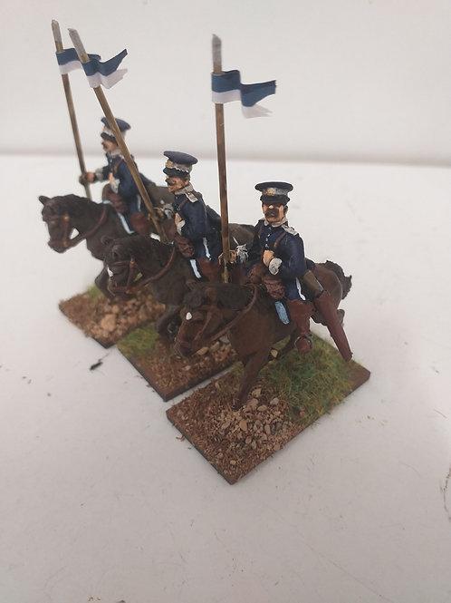 Yeomanry Cavalry, Plasteron Tunic, SD Cap with Lance