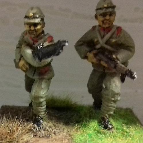 Model 11 LMG Gunner & No2, Field Cap