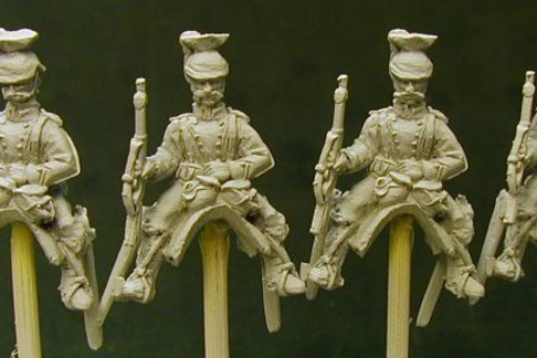 Uhlans with Rifles