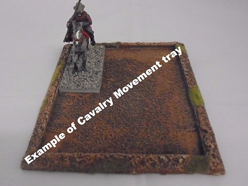 25mm Cavalry Movement Tray - Various Sizes