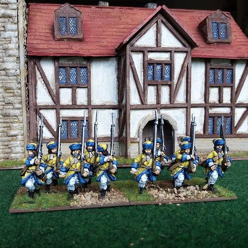 Musketeers, Flintlock, Karpus, Advancing