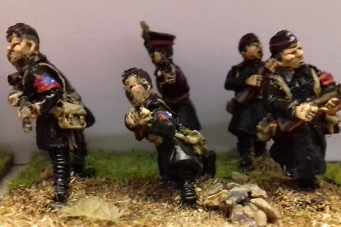 BUF Infantry with Greatcoats