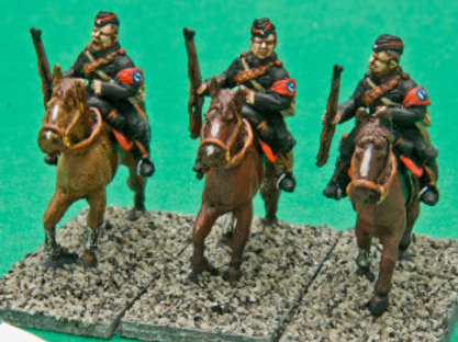 British Union of Fascists Cavalry with Rifles