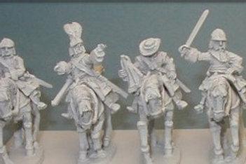 Cuirassier Command in helmet