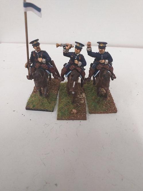 Yeomanry Cavalry, Plasteron Tunic, SD Cap. Command