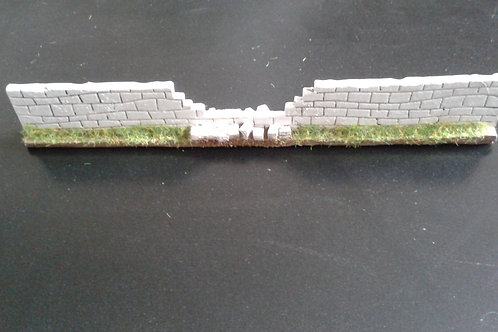 28mm Stone Wall Broken Section