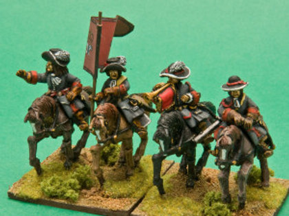 Cavalry Command in Broadbrimmed Hats