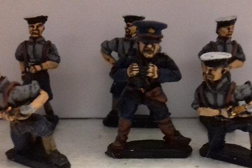 Naval Gun Crews