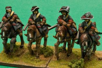Dragoons in Broadbrimmed Hats